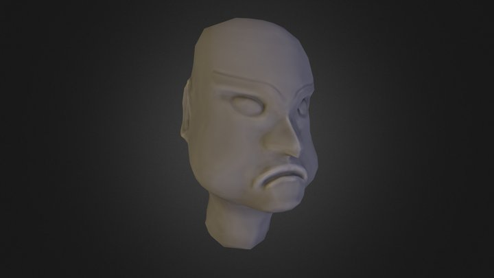 finished low poly retopo and baked 3D Model