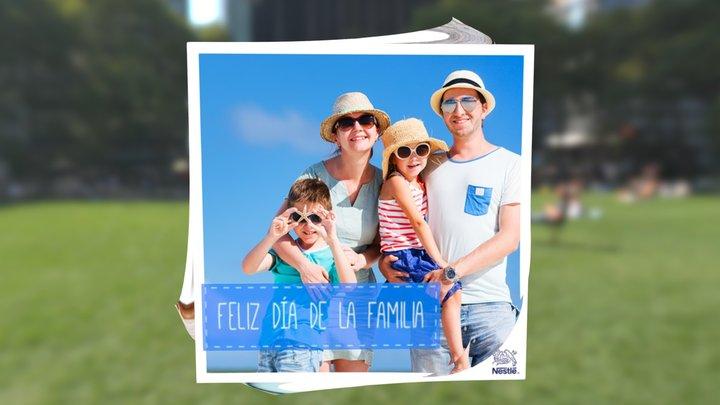 Día De La Familia 3D Model