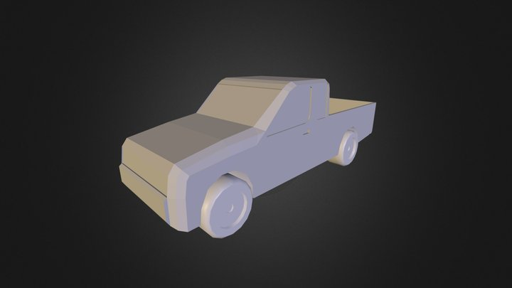 Pickup Truck1 3D Model