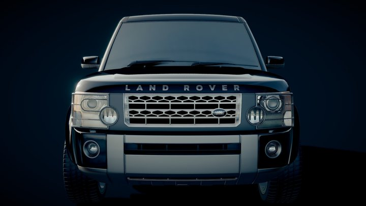 2006 Custom Land Rover Discovery 3 3D Model