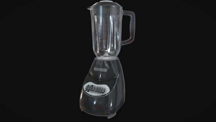 BLACK & DECKER Blender 3D Model
