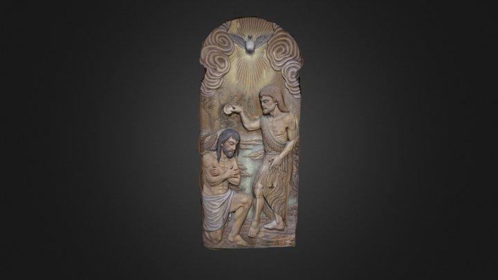 Puerta de la sacristía de San Xoán de Baión 3D Model