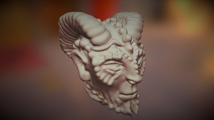 Horny Dude 3D Model