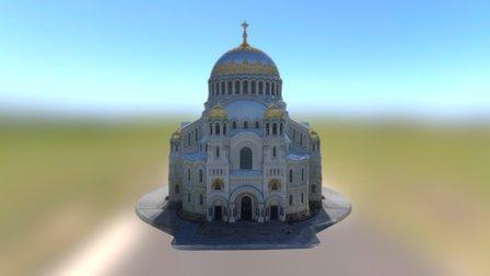 Kronshtadt Naval Cathedral 3D Model