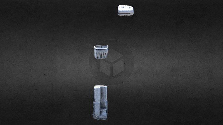 LA015-023003- Kyle - Architectural Fragment 3D Model