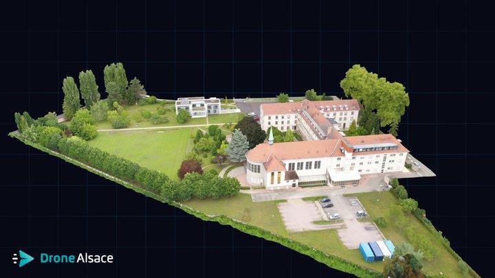 Inventaire Patrimoine Urbain - Strasbourg 3D Model