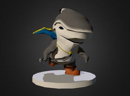 Sharky 3D Model