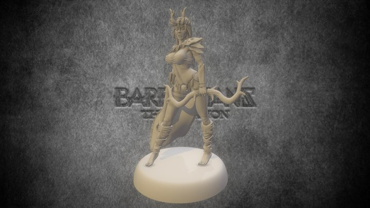 Kin of the Forest - Barbarians: the Invasion 3D Model