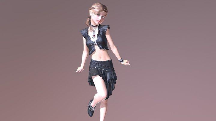 Genna 3D Model