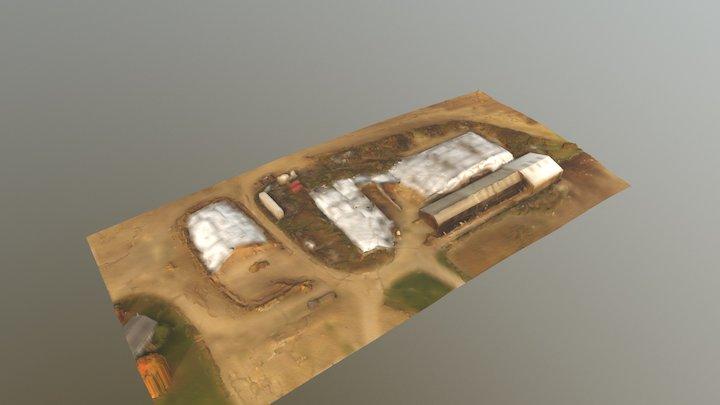 Dairy Farm 3D Model