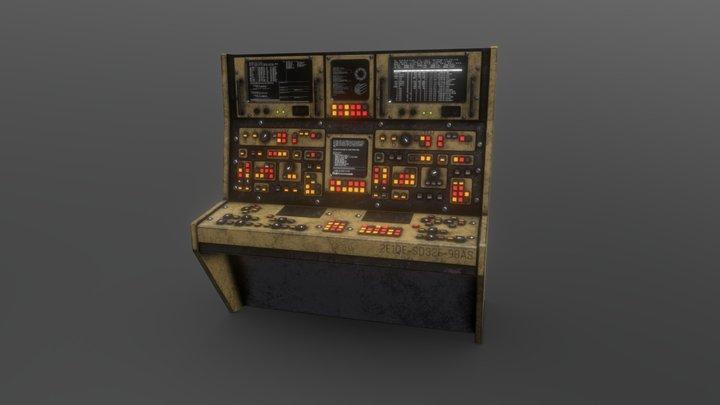 Computer #3 3D Model
