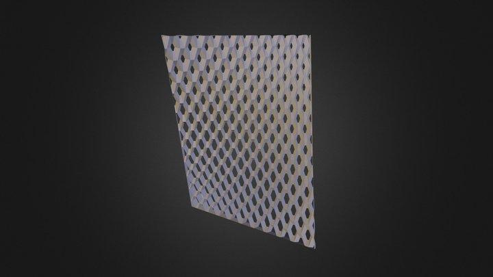 150110 Cireson Skin Hexagonal Cell Sketch V1 3D Model