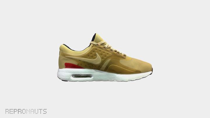 Nike Air Max Zero Unisex Shoe 3D Model