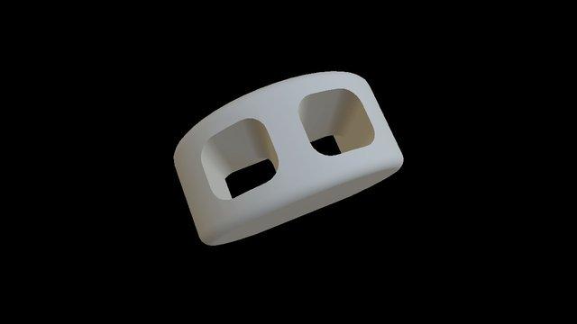 3dtie Slider Disc 3D Model