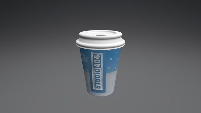 COFFEE CUP V2 3D Model