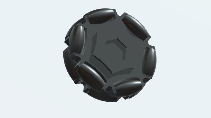 OmniWheel 3D Model