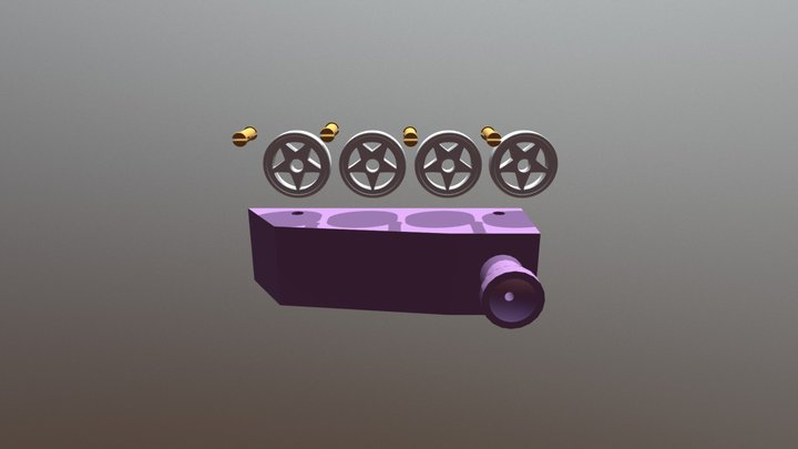 Create The Balloon Connector 3D Model