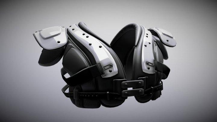 Shoulder Pads02 3D Model