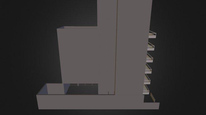 Builiding 2 3D Model