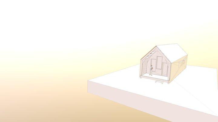 Maison en auto-construction Ecaille 3D Model