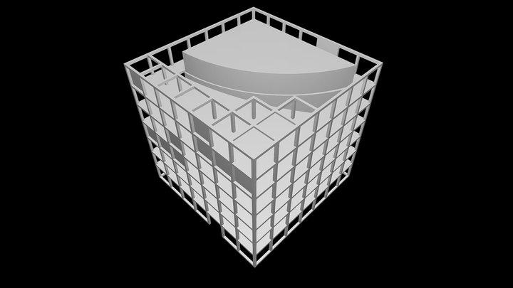 C&P Corporate Headquarters - INNOCAD 3D Model