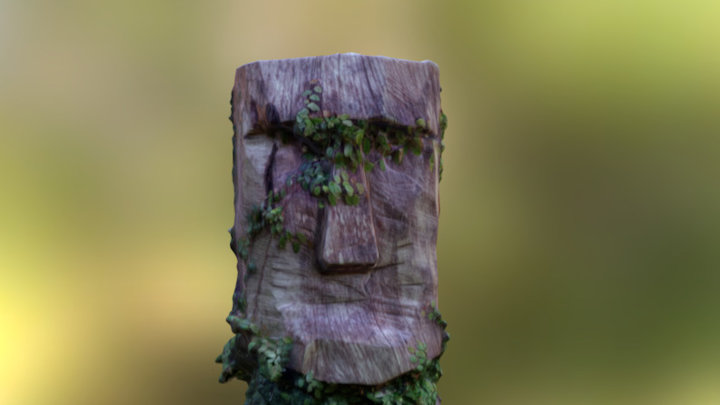 Moai Mesh-100k-160313 3D Model