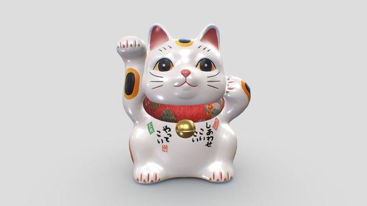 Maneki Neko 3D Model