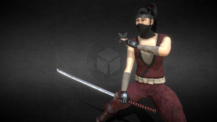 Tesura the Ninja 3D Model