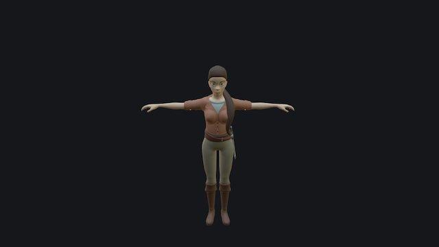 Model 2 3D Model