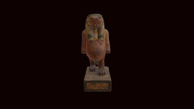 A statue of the goddess Taweret 3D Model