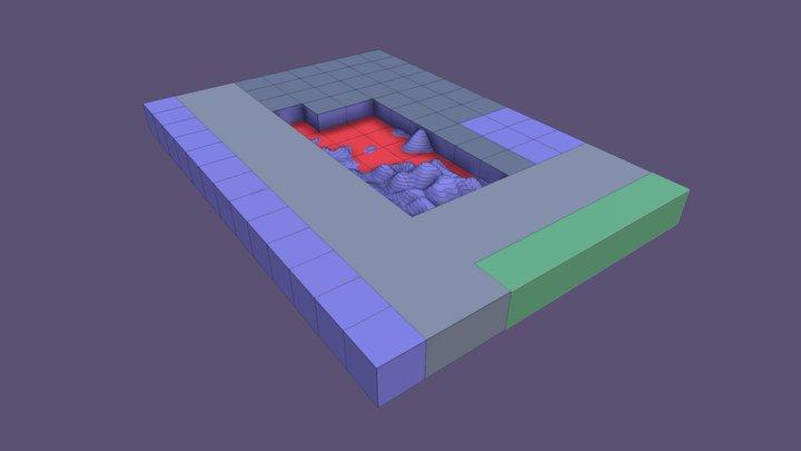 VARC_Scene 1_Topo 3D Model