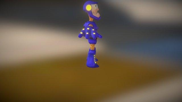 Buck McLargehuge 3D Model
