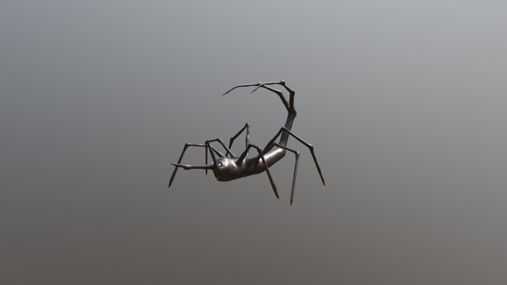 Insect Scorpion Hybrid 3D Model