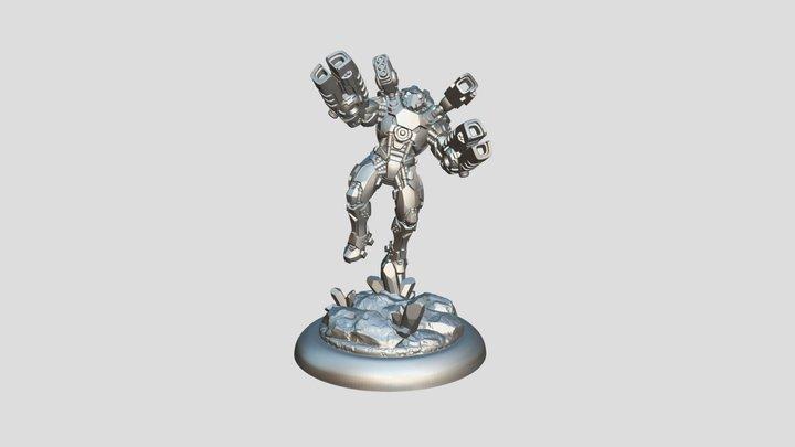 Star Scrappers: Bioss Invader 3D Model