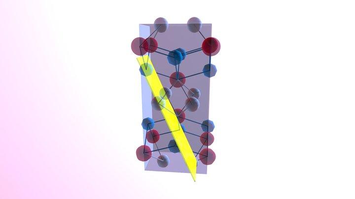 U Te2-sketchfab Crystal 3D Model
