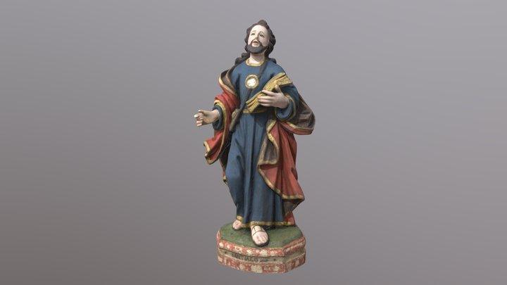 Santiago Apóstolo 3D Model
