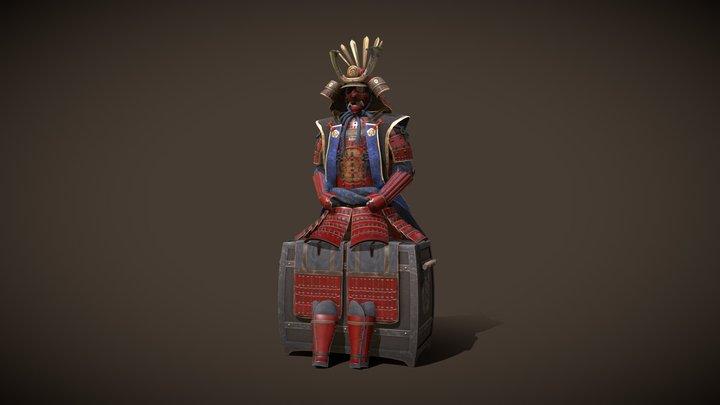 Samurai Shogun Armour 3D Model