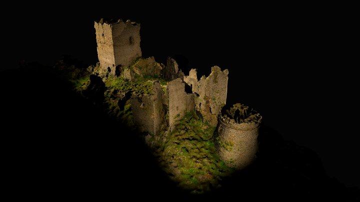 Roccaguglielma - Esperia's castle 3D Model