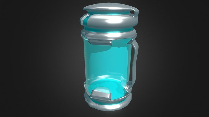 Cyber capsule 3D Model