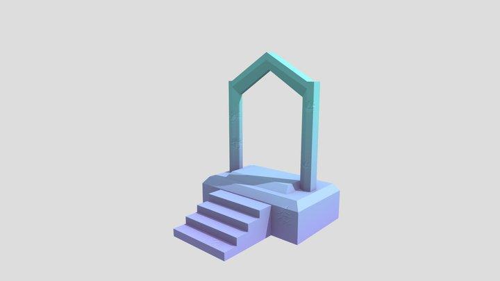GlitchHitch_Portal 3D Model