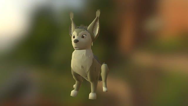 Fox Ferret Sat 3D Model