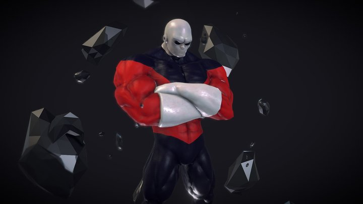 Universe 11's Strongest: Jiren 3D Model