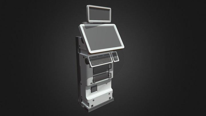 Terminal Draft 3D Model