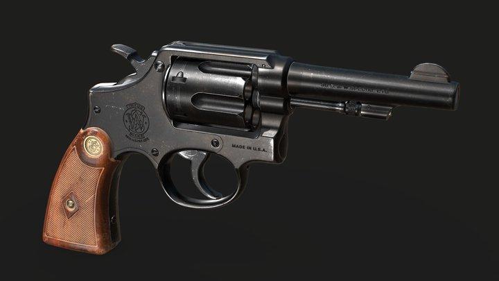 S&W1905 3D Model