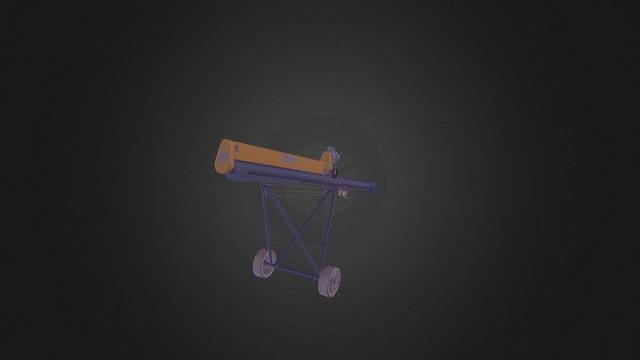 Screw Conveyor ST GR 6K 220 3D Model