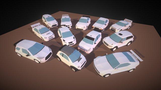 Small Cars - WRC 3D Model