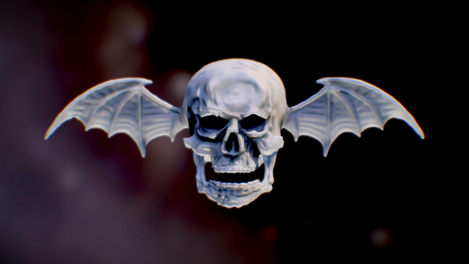 Deathbat Avenged Sevenfold 3d Model By Yuriy Sountsov