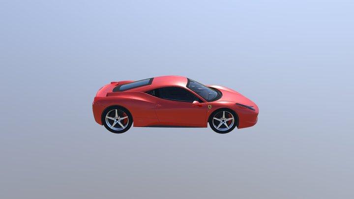 F 3D Model
