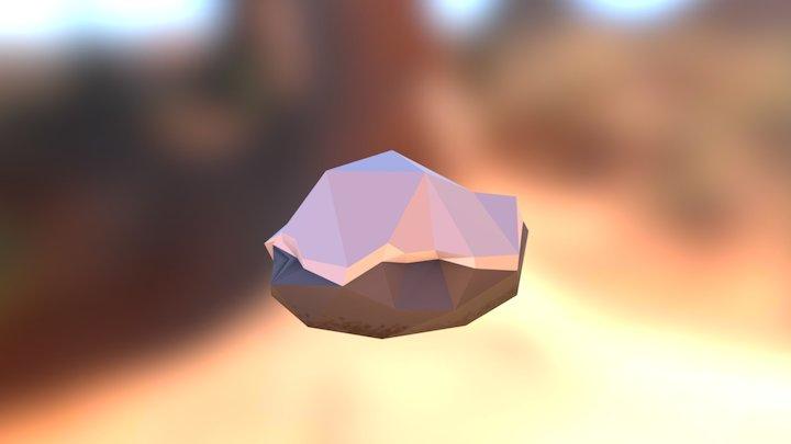 Snowy_Boulder_II 3D Model