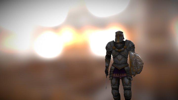 Knight walking test 3D Model